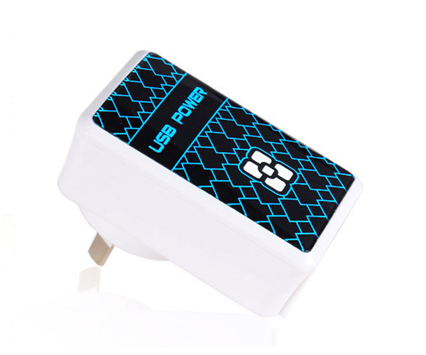 4 USB Ports Power Adapter(4.8A)/